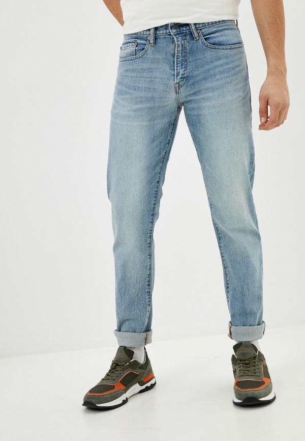 мужские прямые джинсы gap, голубые