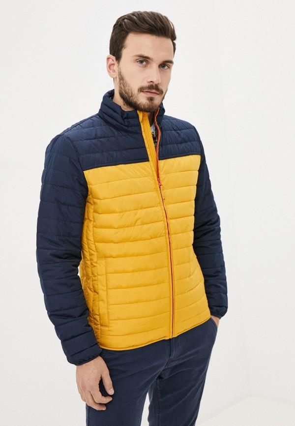 мужская куртка gap, желтая
