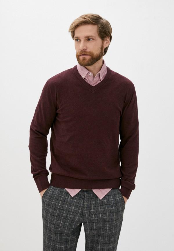 мужской пуловер gap, бордовый