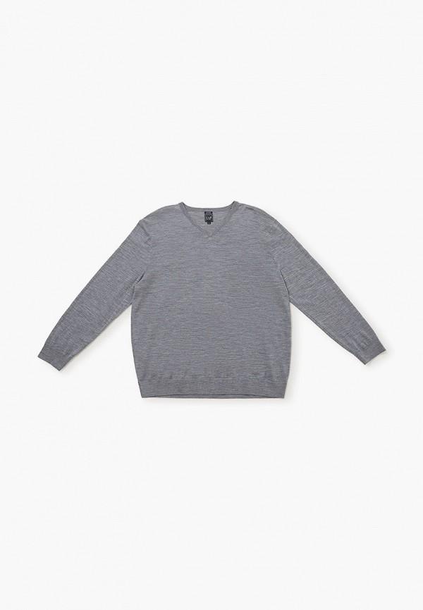 мужской пуловер gap, серый
