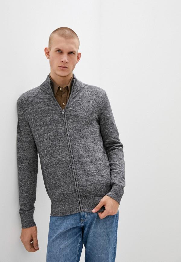 мужской кардиган gap, серый