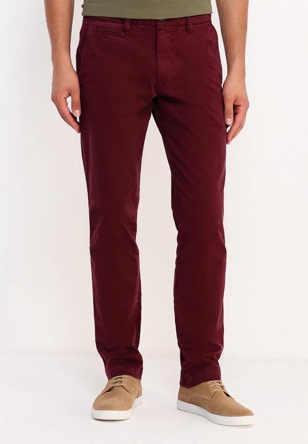 мужские повседневные брюки gap, бордовые