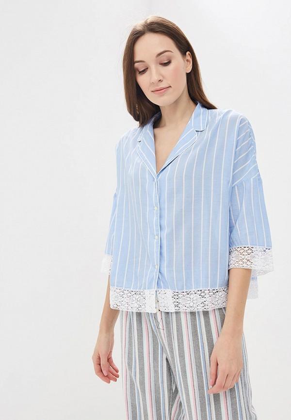 Купить Рубашка домашняя Gap, GA020EWAKNG0, голубой, Весна-лето 2018