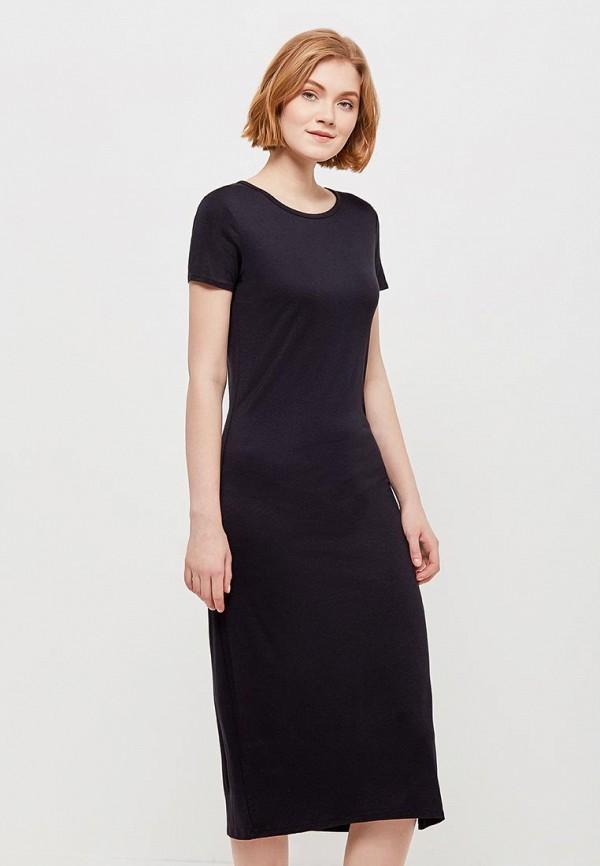 Купить Платье Gap, GA020EWAKNL7, черный, Весна-лето 2018