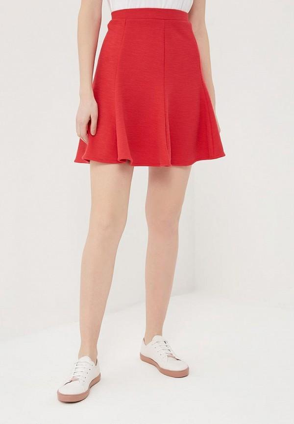 женская юбка gap, красная
