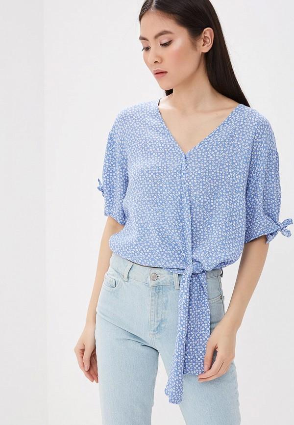 Купить Блуза Gap, ga020ewakoq1, голубой, Весна-лето 2018