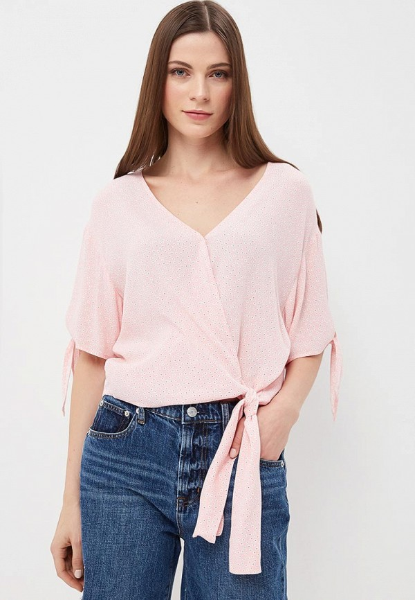 Купить Блуза Gap, ga020ewakoq2, розовый, Весна-лето 2018