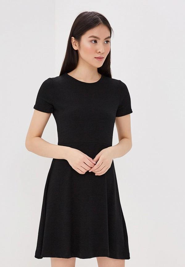 Купить Платье Gap, GA020EWAKQG0, черный, Весна-лето 2018