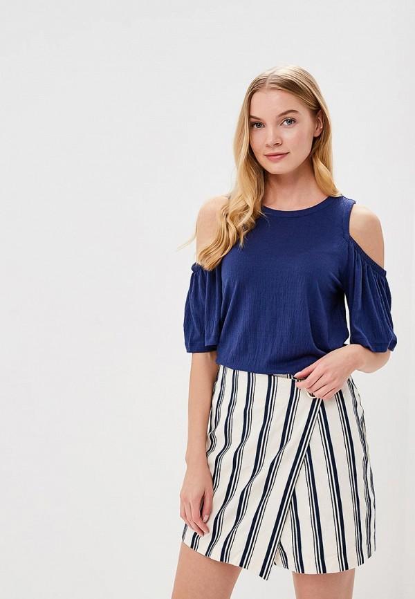 Купить Блуза Gap, GA020EWAKQK0, синий, Весна-лето 2018