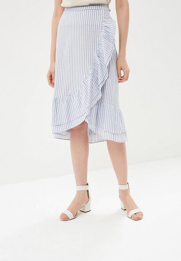 Купить Юбка Gap, GA020EWAKQY1, голубой, Весна-лето 2018