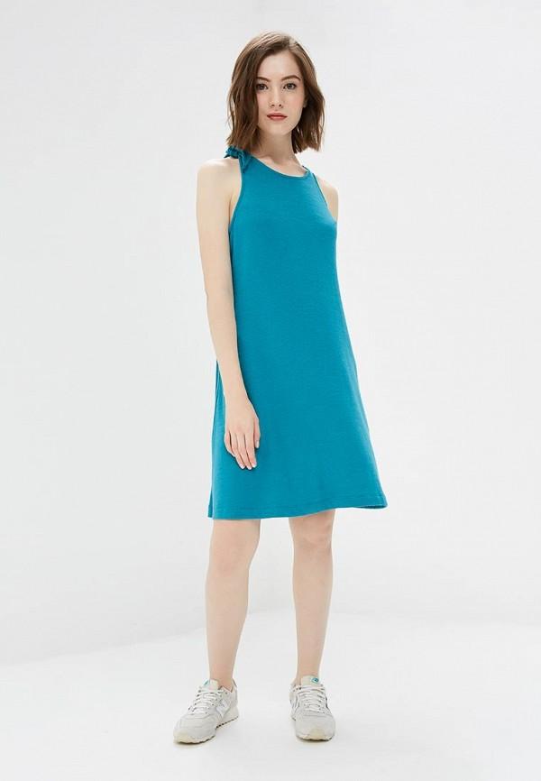 Фото 2 - женское платье Gap бирюзового цвета