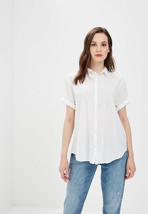 Рубашка Gap, ga020ewbftw8, белый, Весна-лето 2018  - купить со скидкой