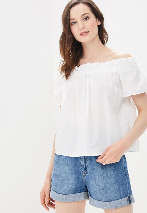 Купить Блуза Gap, ga020ewbftw9, белый, Весна-лето 2018