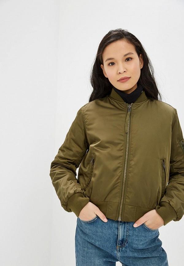 Купить Куртка утепленная Gap, ga020ewcgco7, хаки, Осень-зима 2018/2019