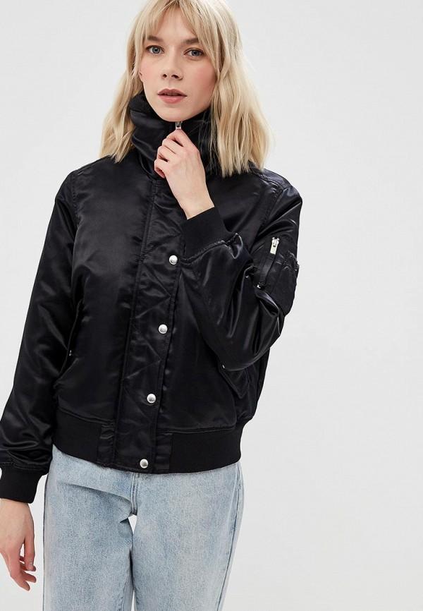 Купить Куртка утепленная Gap, ga020ewcgcp2, черный, Осень-зима 2018/2019