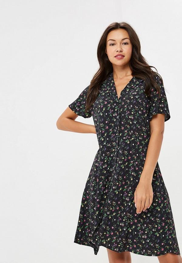 Купить Платье Gap, GA020EWCGDM8, черный, Осень-зима 2018/2019