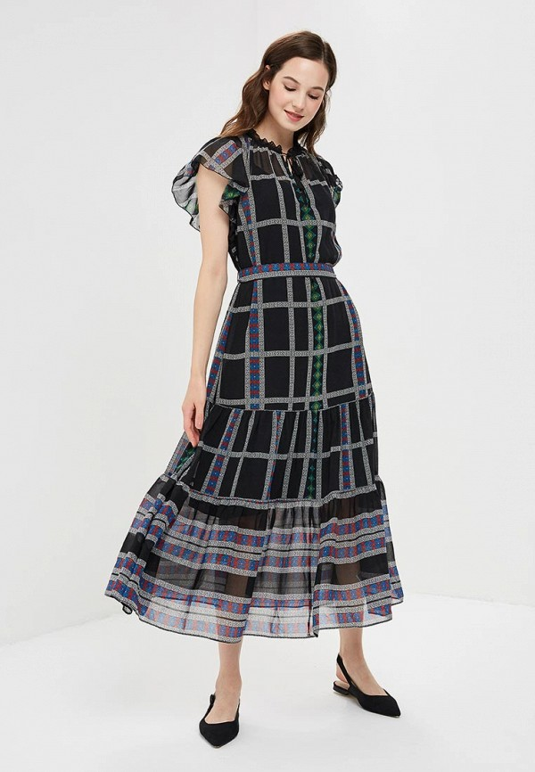 Купить Платье Gap, GA020EWCGDN1, черный, Осень-зима 2018/2019