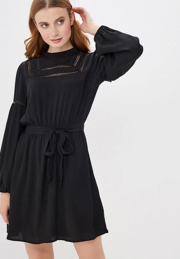 женское повседневные платье gap, черное