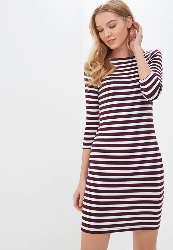 женское повседневные платье gap, бордовое