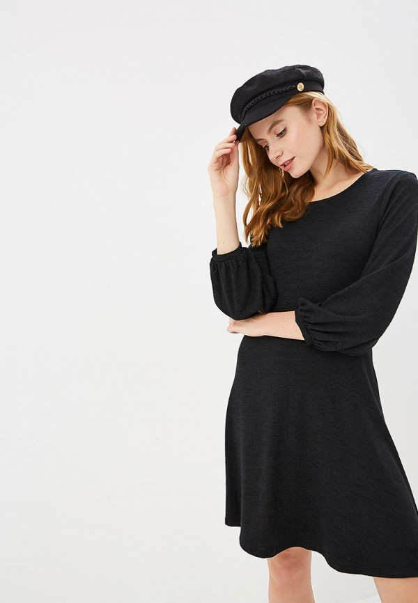 Купить Платье Gap, ga020ewcgds6, черный, Осень-зима 2018/2019