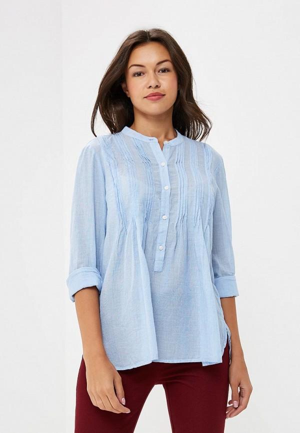 Купить Блуза Gap, GA020EWCGDS9, голубой, Осень-зима 2018/2019