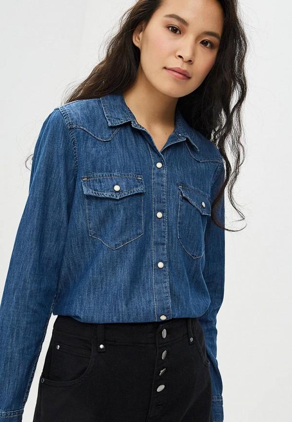 купить Рубашка джинсовая Gap Gap GA020EWCGDU3 по цене 3499 рублей