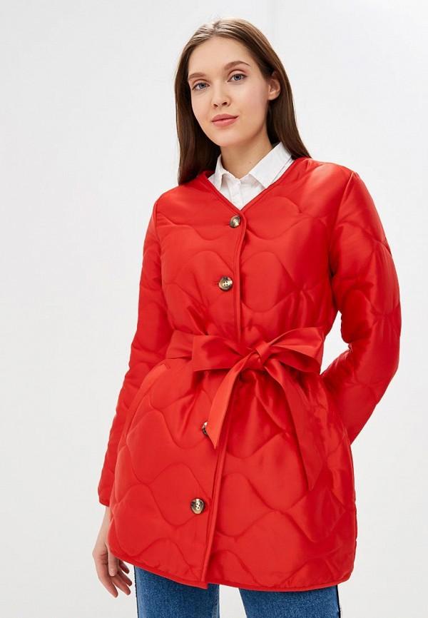 Купить Куртка утепленная Gap, ga020ewcgdu4, красный, Осень-зима 2018/2019