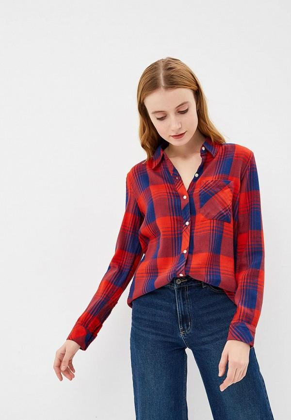 Купить Рубашка Gap, ga020ewcgea7, красный, Осень-зима 2018/2019