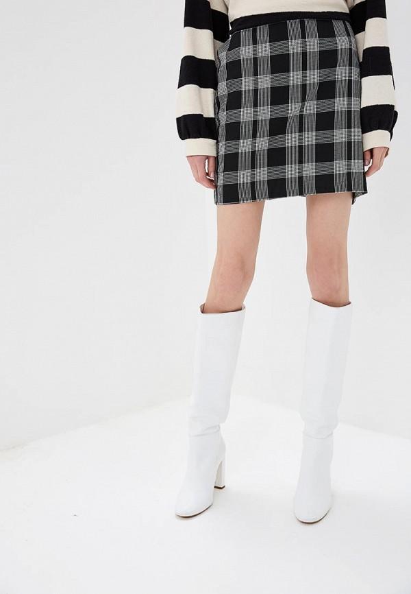 женская юбка gap, черная