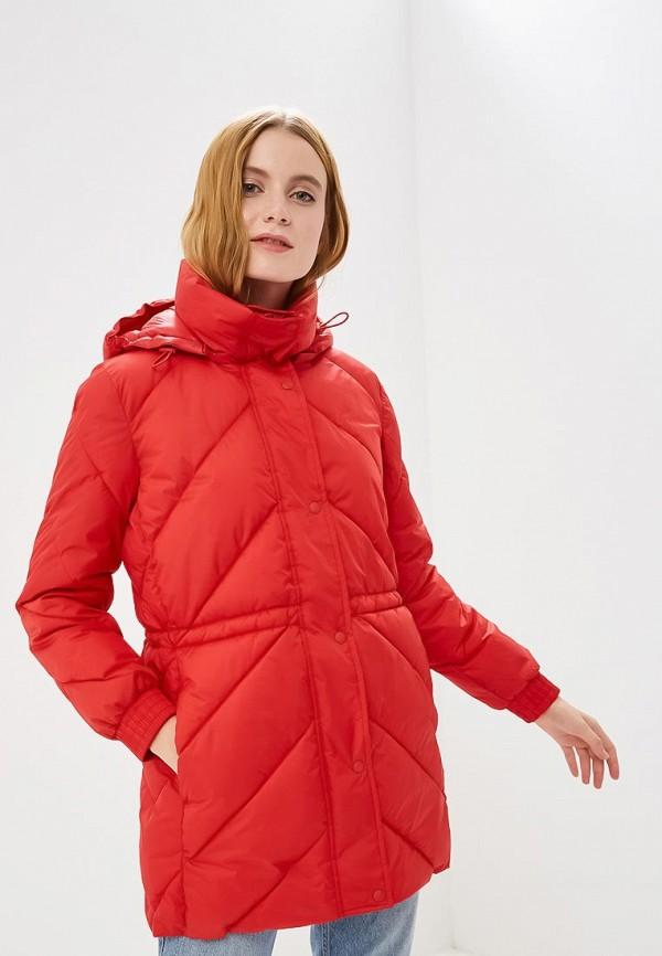 Купить Куртка утепленная Gap, ga020ewcvgw6, красный, Осень-зима 2018/2019