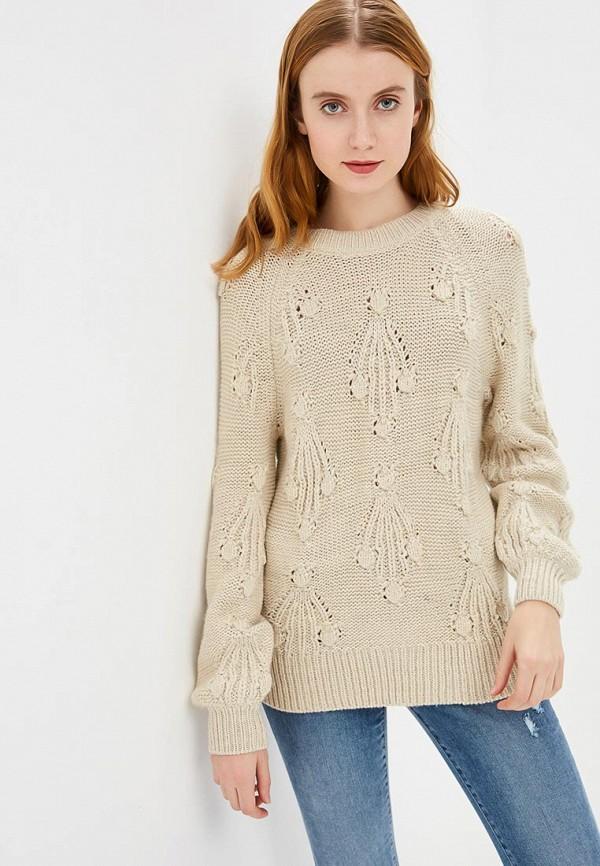 женский свитер gap, бежевый