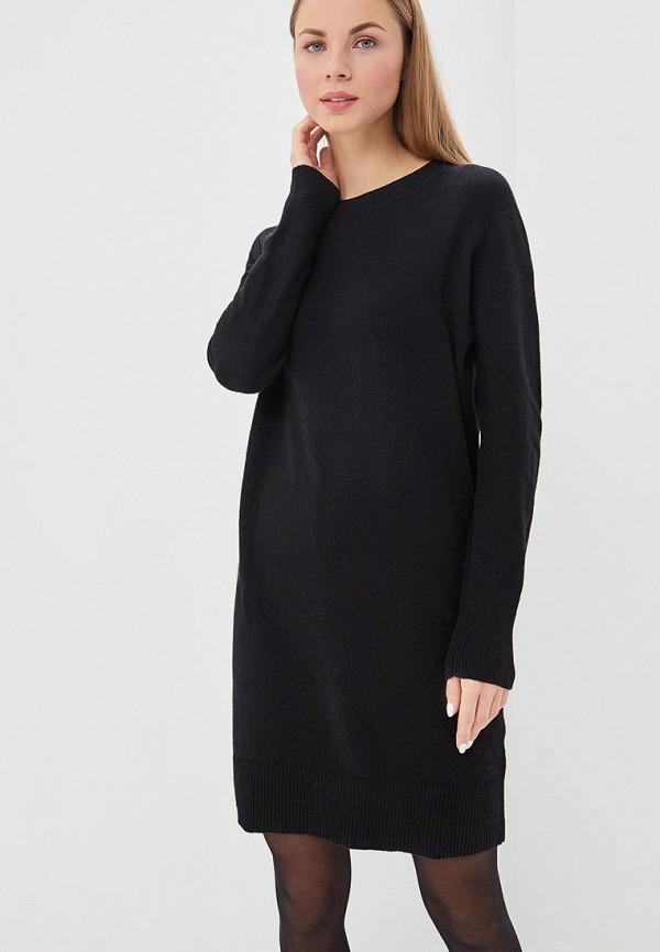 Купить Платье Gap, ga020ewcvhg4, черный, Осень-зима 2018/2019