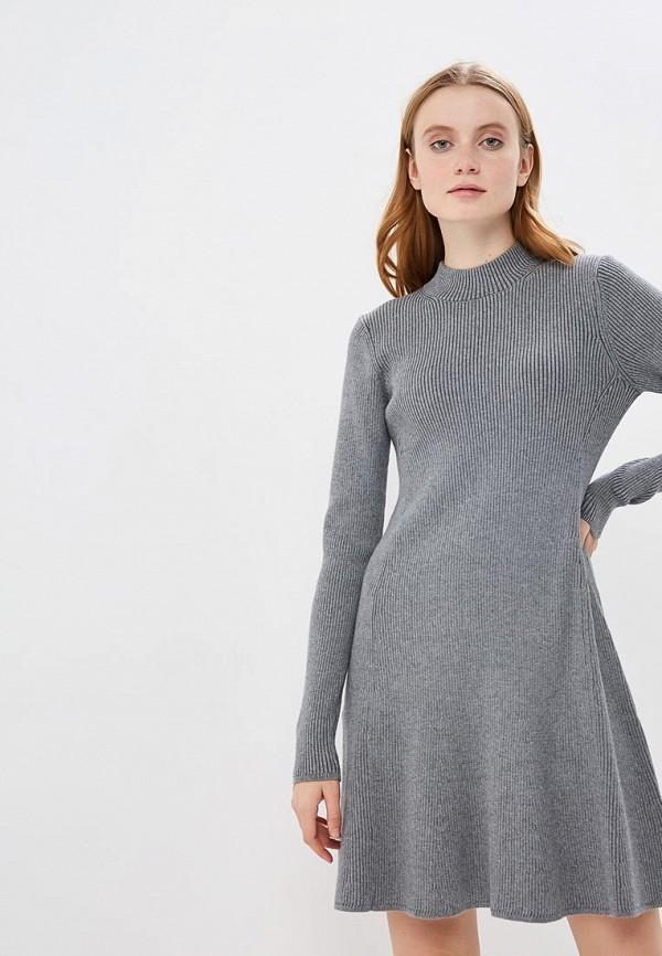 женское платье gap, серое