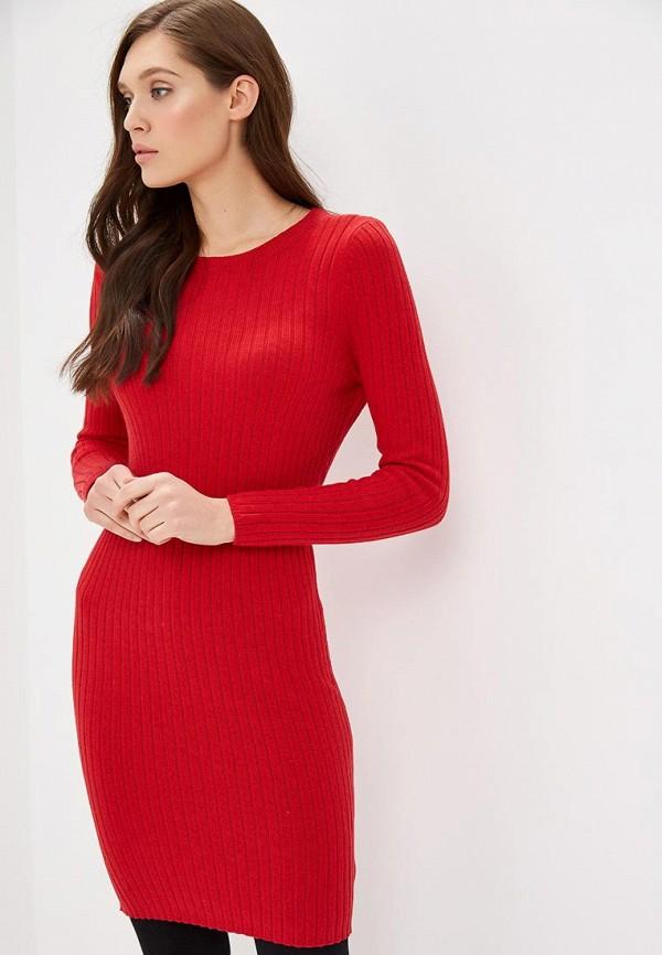 Купить Платье Gap, ga020ewcvhh8, красный, Осень-зима 2018/2019