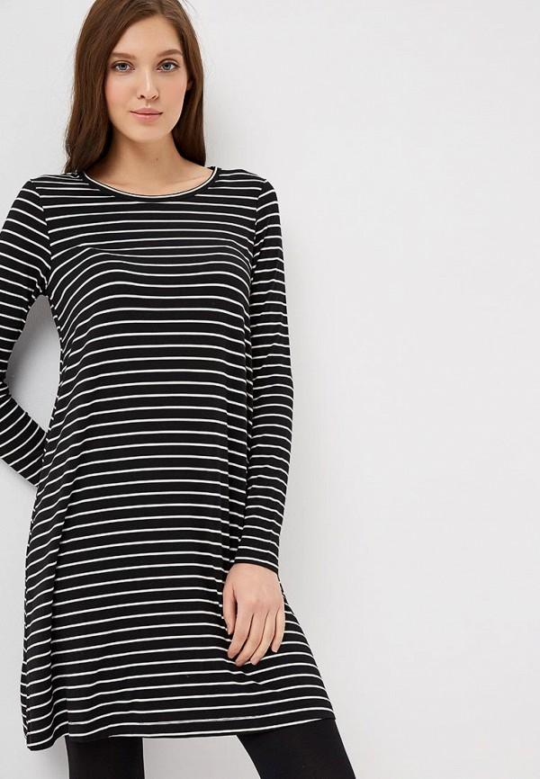 Купить Платье Gap, ga020ewcvhm2, черный, Осень-зима 2018/2019