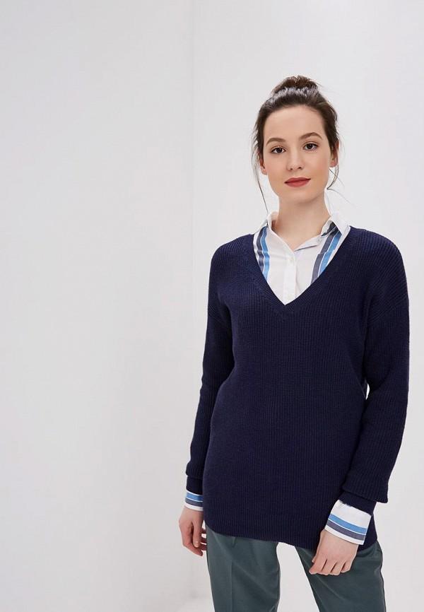 женский пуловер gap, синий