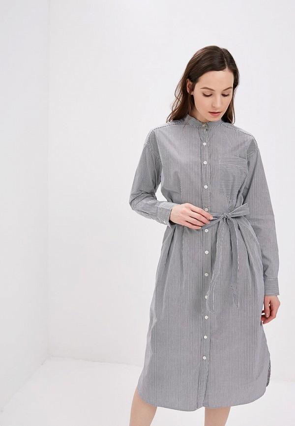 Фото - женское платье Gap серого цвета