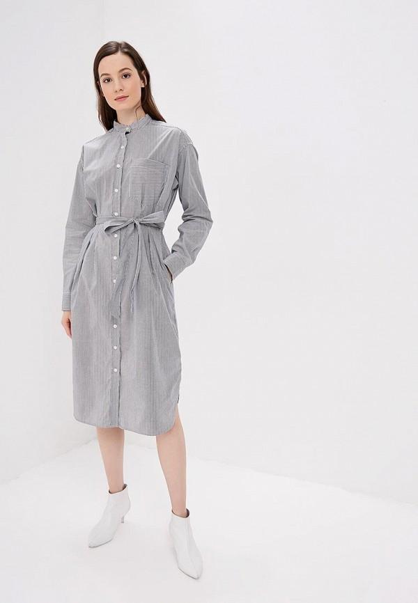 Фото 2 - женское платье Gap серого цвета