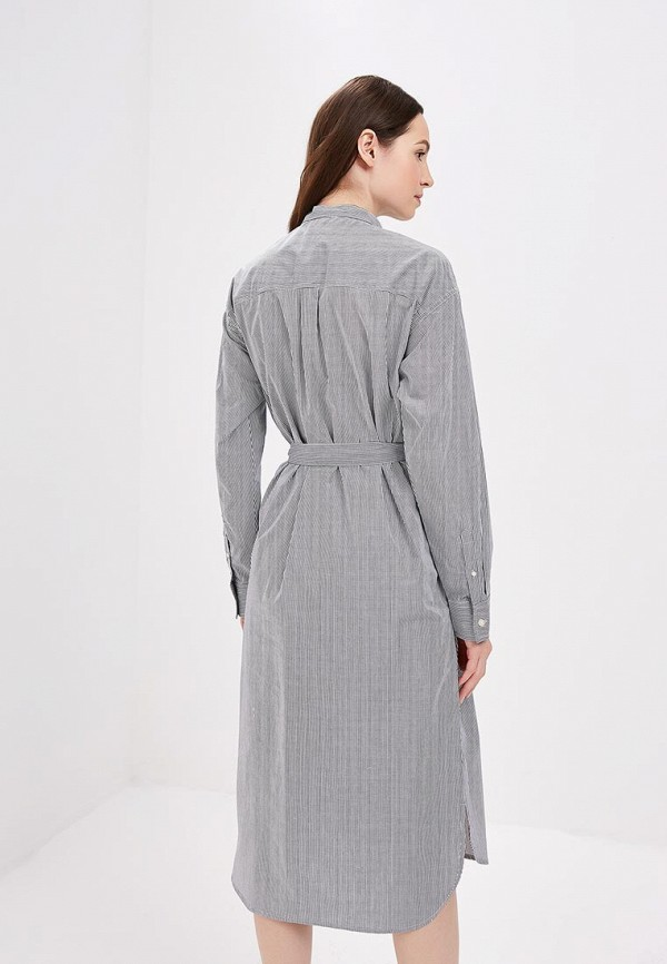 Фото 3 - женское платье Gap серого цвета