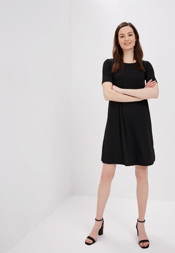 Фото 2 - женское платье Gap черного цвета