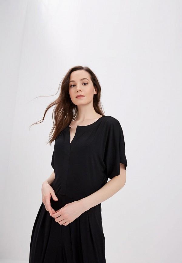 Фото 2 - женский комбинезон Gap черного цвета