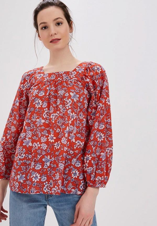 Фото - женскую блузку Gap красного цвета