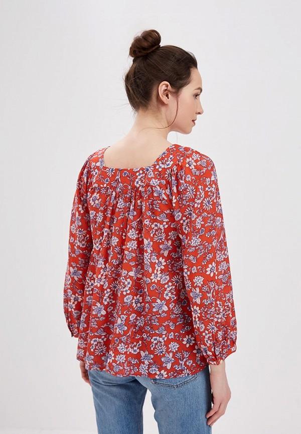 Фото 3 - женскую блузку Gap красного цвета