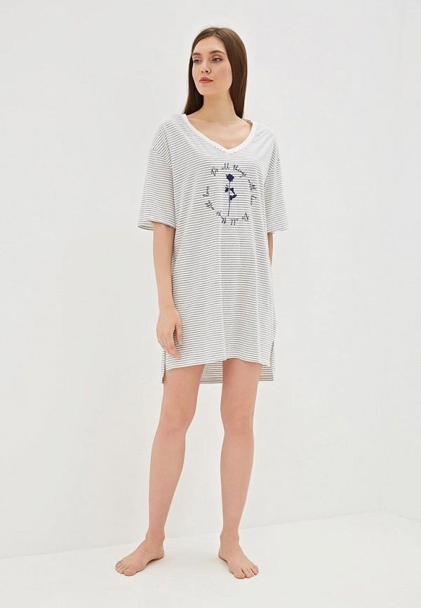 Фото 2 - Платье домашнее Gap бежевого цвета