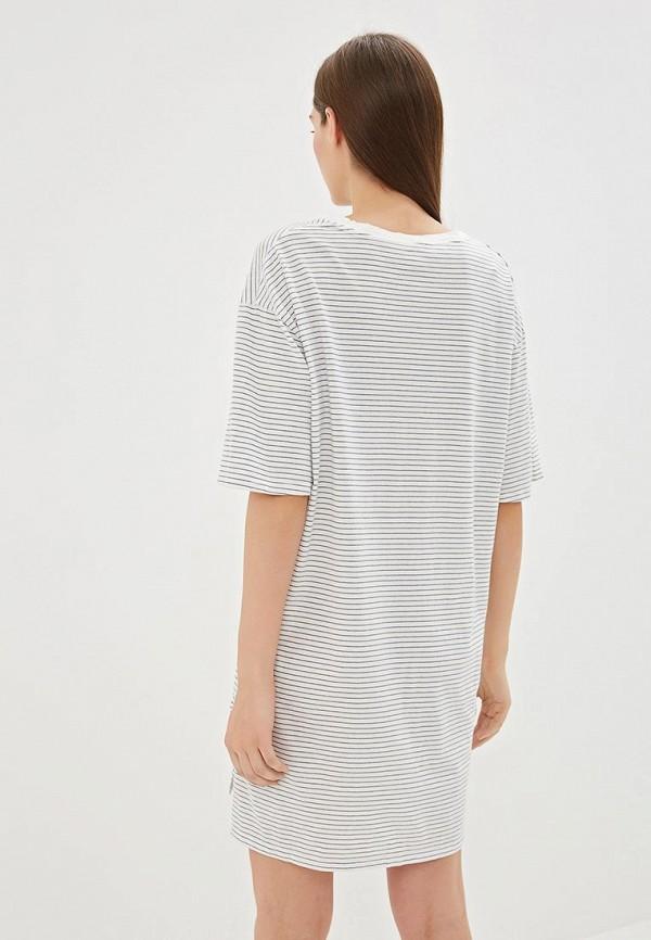 Фото 3 - Платье домашнее Gap бежевого цвета