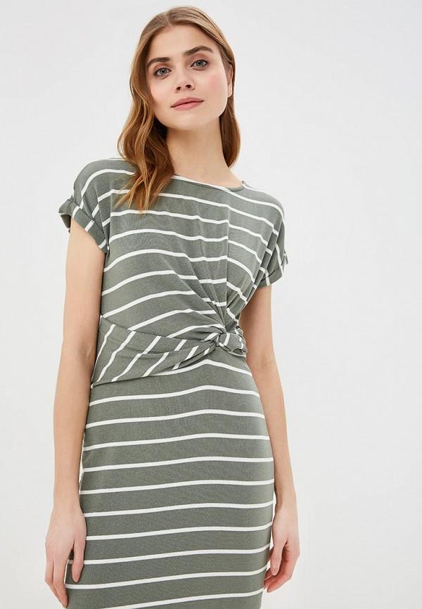 Фото 2 - женское платье Gap зеленого цвета