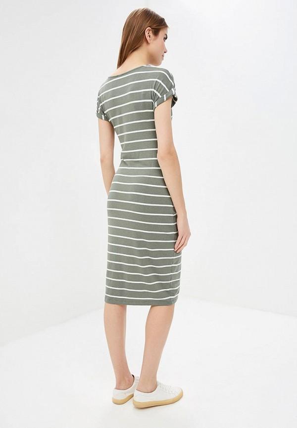 Фото 3 - женское платье Gap зеленого цвета
