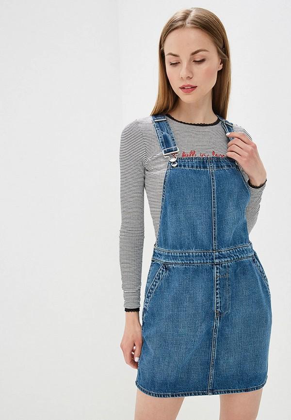 Платье джинсовое Gap Gap GA020EWEGHH6 платье gap gap ga020egbtrd4