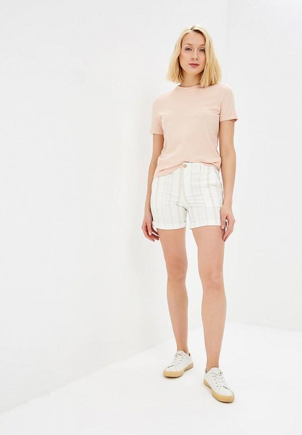 Фото 2 - женские шорты Gap белого цвета