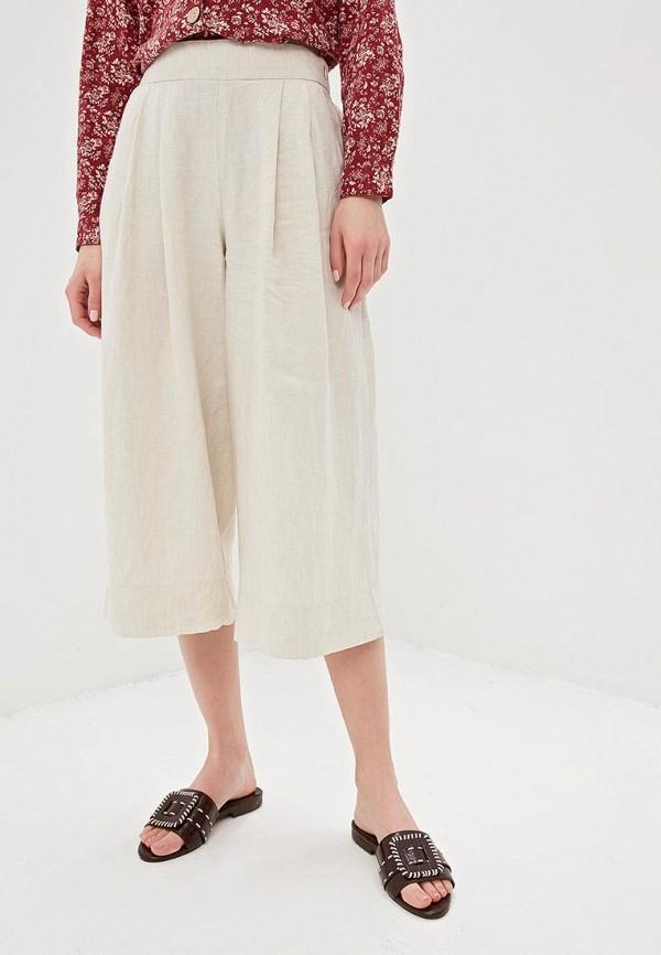 женские брюки gap, бежевые